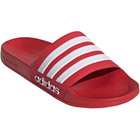 adidas Adilette Shower Slides Men scarlet/footwear white/scarlet
